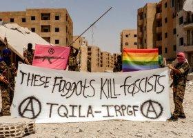 """""""Te pedały zabijają faszystów"""""""