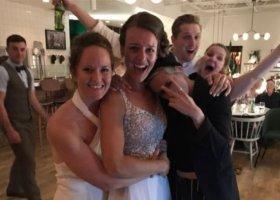 Kristen Stewart z dziewczyną na lesbijskim weselu