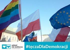#TęczaDlaDemokracji… większości