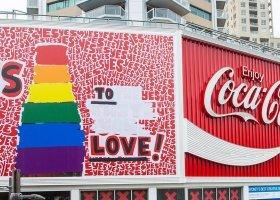 Tęczowa Coca Cola