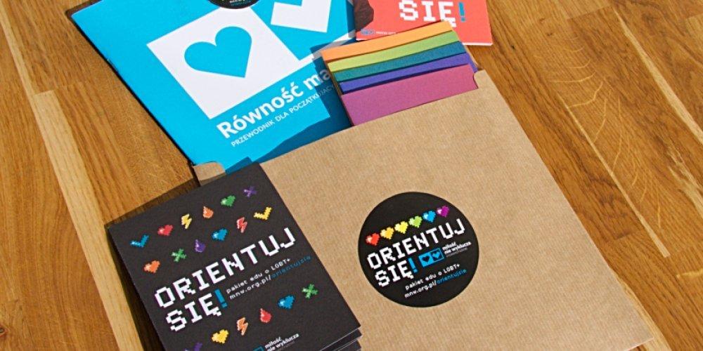 Orientuj się! Pakiet edu o LGBT+ dla młodzieży