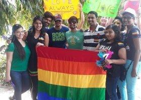 Pierwszy marsz równości w Goa