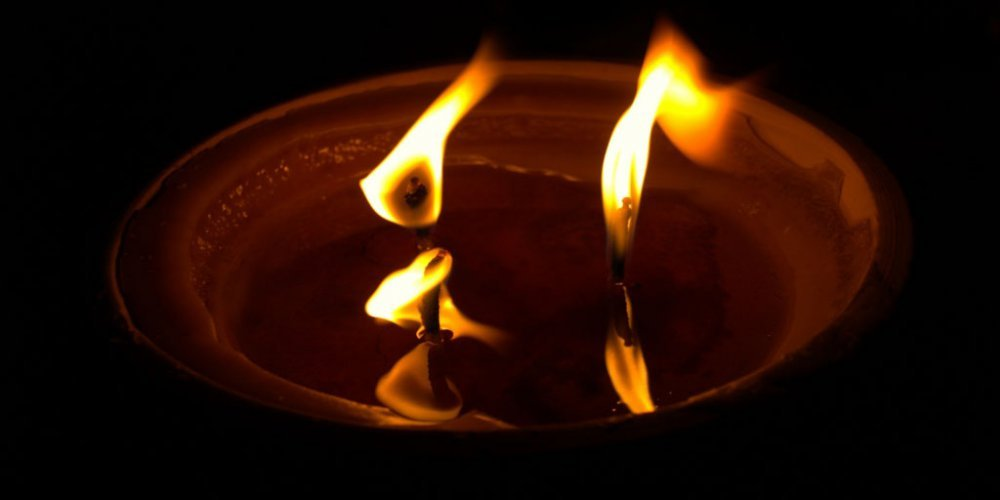 Świeczka dla pana Piotra i dla Kacpra