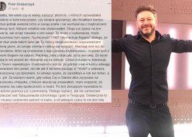 Dziennikarz outuje Andrzeja Piasecznego