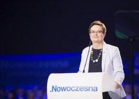 Katarzyna Lubnauer nową szefową Nowoczesnej