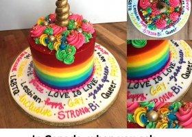 Najbardziej gejowski tort świata
