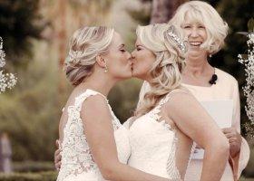 Lesbijski ślub jak z bajki