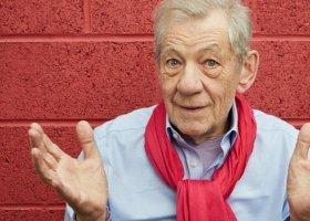 Ian McKellen 30 lat po coming oucie