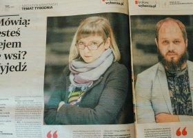 """O LGBT w mniejszych miastach w krakowskiej """"Wyborczej"""""""
