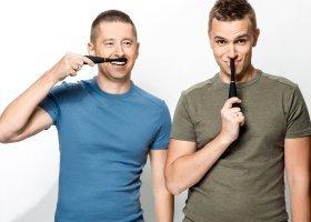 Jakub i Dawid w spocie szczoteczek do zębów