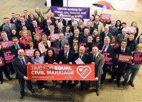 Irlandia Północna chce równości małżeńskiej