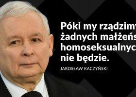 Organizacje komentują słowa Kaczyńskiego o małżeństwach