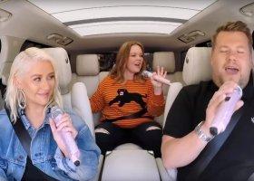 Aguilera i McCarthy w samochodowym karaoke