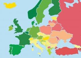 Tęczowa mapa Europy: Polska stoi w miejscu