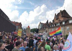 Pierwsze zdjęcia z Marszu Równości w Gdańsku