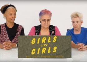 Lesbijki starszego pokolenia oglądają teledyski Hayley Kiyoko