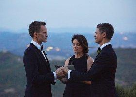 Neil Patrick Harris i David Burtka świętują czwartą rocznicę ślubu
