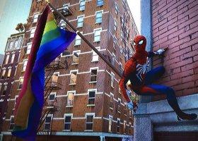 Tęczowe flagi w nowej grze o Spider-Manie
