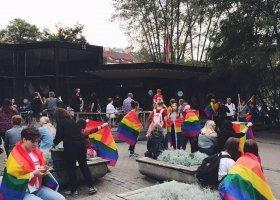 Tęcza na Litwie po serii homofobicznych podpaleń
