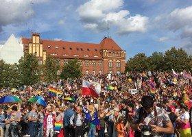 Tłumy na pierwszym Marszu Równości w Szczecinie!