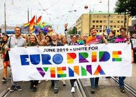 EuroPride 2019 odbędzie się w Wiedniu