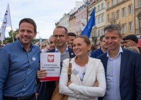 Trzaskowski: zadbam o realizację postulatów karty LGBT+