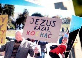 Wspierał Marsz Równości - przyszli mu podziękować (KLIP)