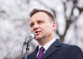 """Andrzej Duda zastanowi się nad zakazem """"propagandy homoseksualnej"""""""