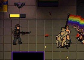 W tej grze strzela się do osób LGBT