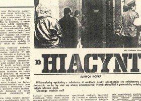 33 lata temu zaczęła się Akcja Hiacynt