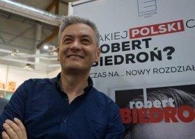 Robert Biedroń dziś w Krakowie