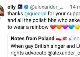 Olly i tęcza w TVP: dziękuję Wam za wsparcie!