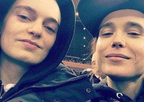 Emma Portner płacze, gdy Ellen Page idzie do pracy