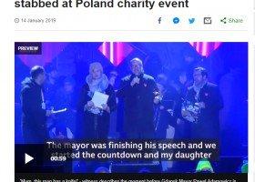 Światowe media o Adamowiczu: był postępowym głosem w kraju