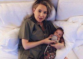 """Kate Hudson ma """"bezpłciowe podejście"""" do wychowywania dzieci?"""