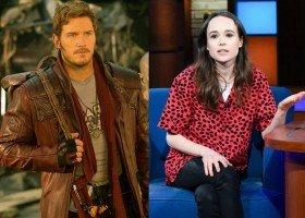 Ellen Page krytykuje kościół Chrisa Pratta, aktor odpowiada