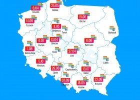 Kolejne marszowe debiuty i daty: Olsztyn, Kielce i Gdańsk