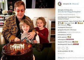 Jak Elton John godzi karierę z byciem tatą?