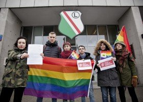 KPH i warszawscy radni żądają reakcji Legii