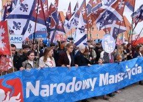 """""""Narodowy Marsz Życia"""" przeciwko LGBT"""