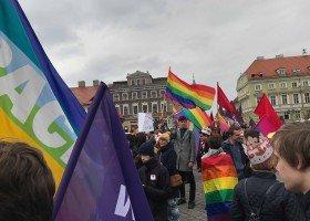 Ulicami Gniezna przeszedł Marsz Równości