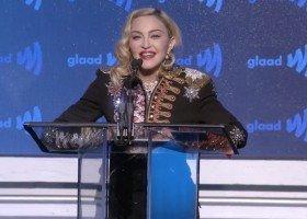 Madonna uhonorowana na GLAAD Awards