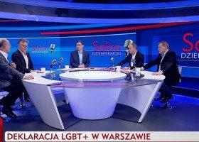 """TVP: homoseksualność na równi z pedofilią, a LGBT to """"zaburzone dziwaki"""""""