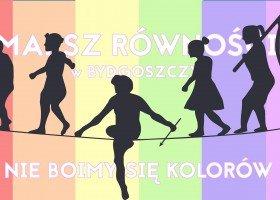 W sobotę Marsz Równości w Bydgoszczy!