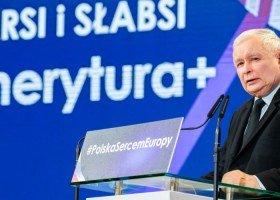 Kaczyński wymienia w Bydgoszczy zagrożenia: w tym... adopcję i seksualizację dzieci