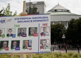 Eurowybory: Sprawdź, które partie podpisały Europejską Deklarację Równości