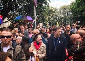 Dulkiewicz krytycznie o happeningu podczas Marszu Równości