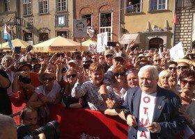 Wałęsa: dlaczego nie ma partii mniejszości seksualnych?