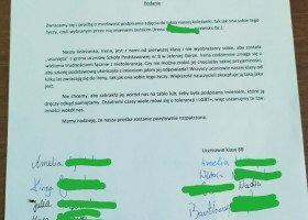 Cała klasa po stronie transpłciowej koleżanki, napisali podanie do dyrekcji