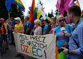 II Marsz Równości w Rzeszowie (zdjęcia)